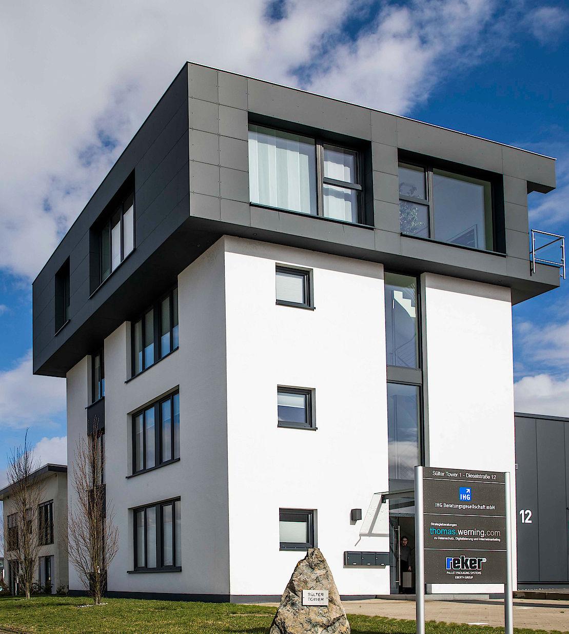 Firmengebäude von werning.com in Lage