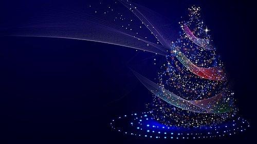 Weihnachten Baum Lichter