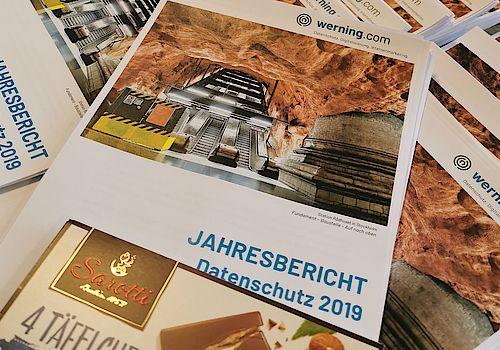 Versand der Jahresberichte zum Datenschutz 2019 an Kunden der Firma werning.com aus Lage/Lippe