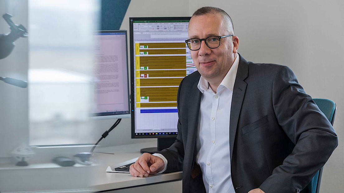 Geschäftsführer Thomas Werning der Firma werning.com