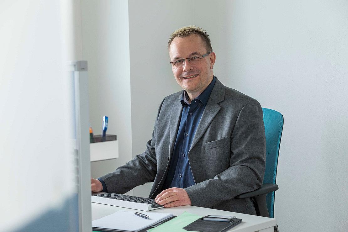 Mitarbeiter Peter Lücking der Firma werning.com