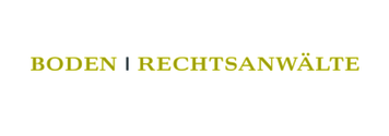 Boden Rechtsanwälte Logo