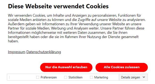 Cookie Banner v4