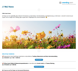 werning.com Newsletter Mai 2021